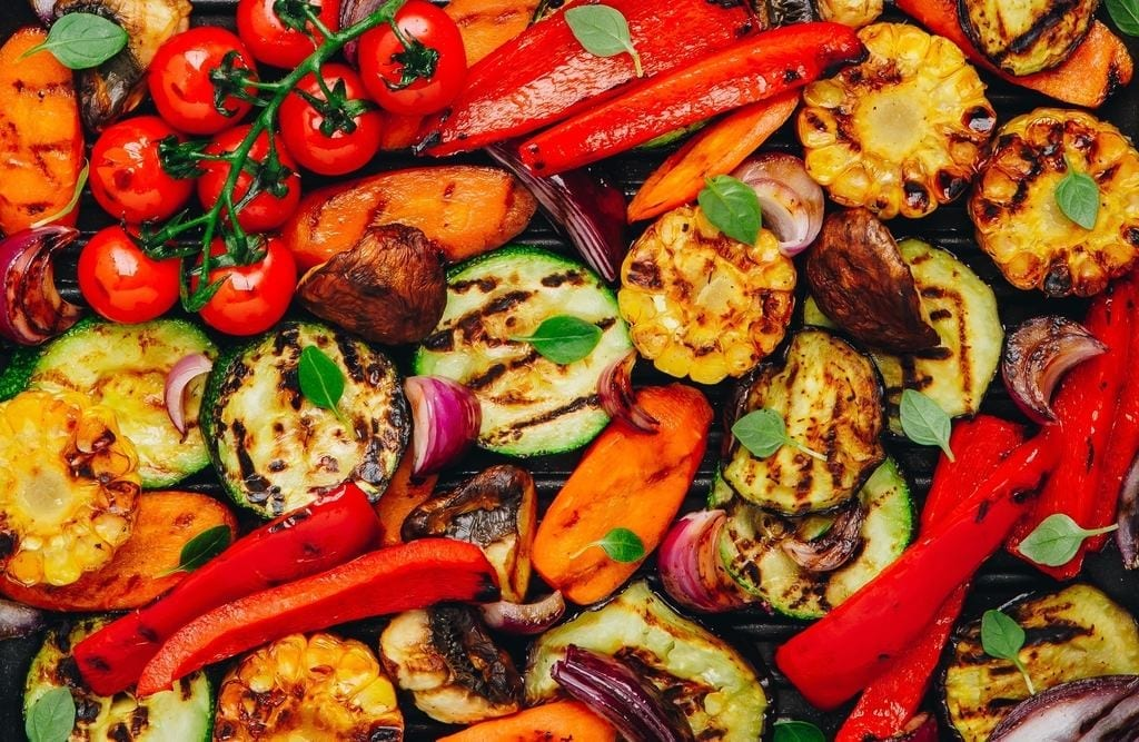 Healthy Food Grilled Vegetables | Cloud 9 Guide