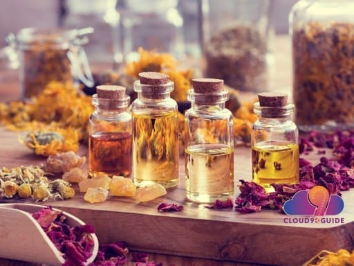 Healing with Essential Oils - Health Benefits - Cloud 9 Guide
